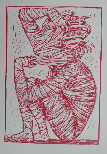 LINOCUTS BY ARTIST ELLOLINO ON VIEW