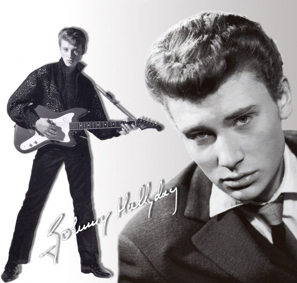 "Cover of the Day: Johnny Hallyday – ""Noir c'est noir"""