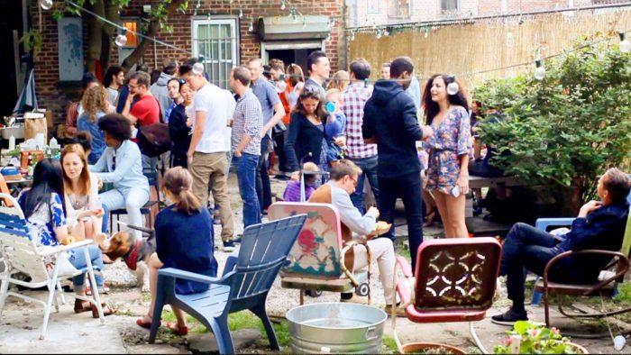 Backyard Apéro Party