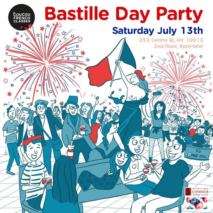 Coucou Bastille Day!