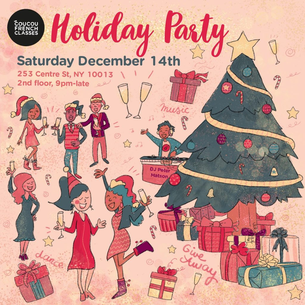 Coucou Holiday Party & Giveaway!