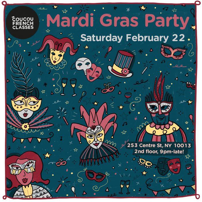 Coucou Mardi Gras Party