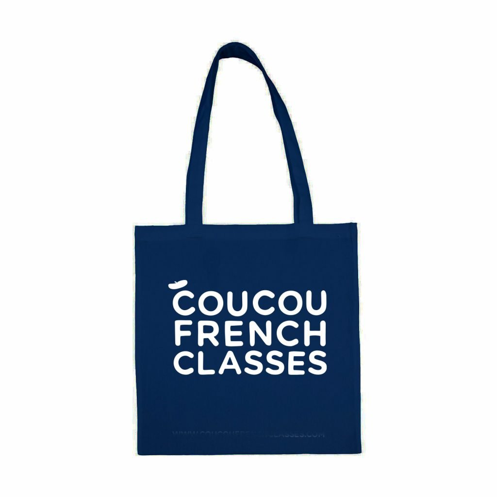 Coucou Tote Bag  – Navy