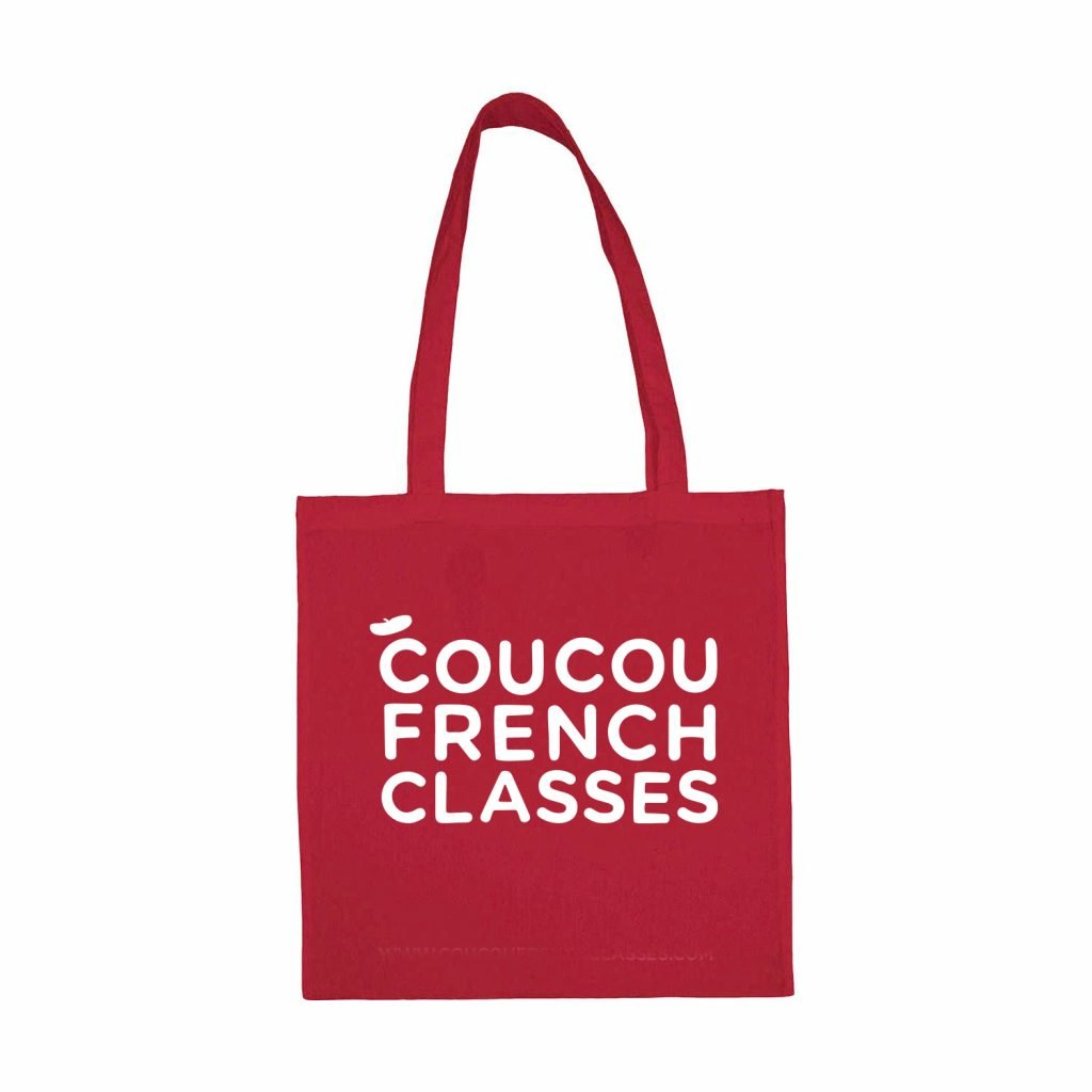 Coucou Tote Bag – Red