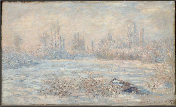 Claude Monet, Le Givre (1880)