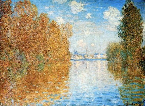 Claude Monet, Effet d'Automne à Argenteuil (1873)