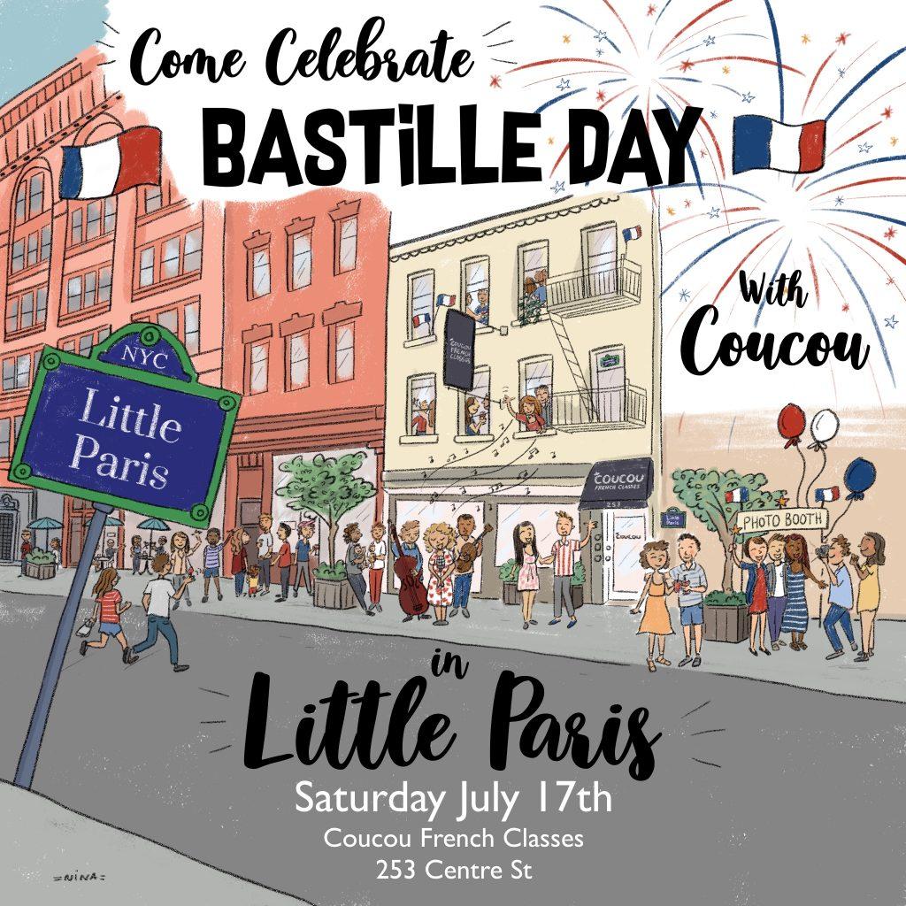 Coucou Bastille Day in Little Paris!